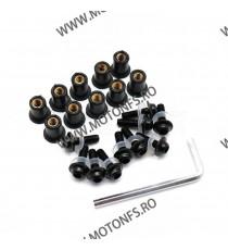 Suruburi parbriz Moto - Negre 215-018  Parbrize  35,00RON 35,00RON 29,41RON 29,41RON