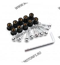 Suruburi parbriz Moto - Argintiu QRT14 QRT14  Parbrize  35,00RON 35,00RON 29,41RON 29,41RON