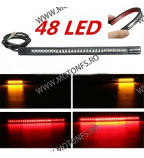 Stop moto LED cu semnalizare universal 76HQO 76HQO  Bankda Led Semnalizare Pozitie Stop Moto 45,00RON 45,00RON 37,82RON 37...