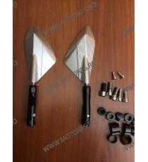 Set oglinzi retrovizoare Universal CNC Argintiu Pentru Motocicleta Naked Streetfighter Sport J4OSTQ J4OSTQ  Oglinzi CNC 160,0...
