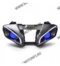 KT LED Angel Halo Eyes Projector Headlight Assembly For Yamaha R6 2006 2007 Blue   Faruri Custom 1,300.00 1,300.00 1,092.44 1...