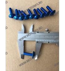 M6 x 20mm Set 10 Suruburi Carena Albastru , Cod sr-284 SR-284  Suruburi rapide carena 26,00RON 26,00RON 21,85RON 21,85RON