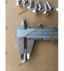 M6 x 20mm Set 10 Suruburi Carena Algintiu , Cod sr-286 SR-286  Suruburi rapide carena 26,00RON 26,00RON 21,85RON 21,85RON