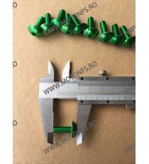 M6 x 15mm Set 10 Suruburi Carena Verde , Cod sr-293 SR-293  Suruburi rapide carena 24,00RON 24,00RON 20,17RON 20,17RON