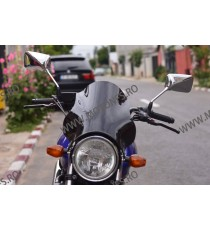 Parbriz universal fumuriu moto naked Cod PRB5123 Prb5123  Parbriz universal / Inaltator  150,00lei 135,00lei 126,05lei 113...