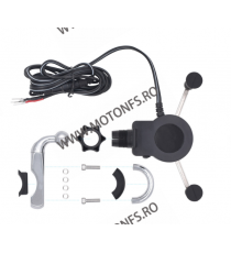 Suport telefon gidon cu incarcatoare rapide USB Cod SPT7255 SPT7255  Suport telefon & GPS 86,00RON 86,00RON 72,27RON 72,27...