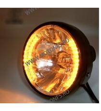 Far Moto 7 inchi cafe racer chopper, bobber xrl-568 xrl-568  Faruri Universale  70,00RON 70,00RON 58,82RON 58,82RON