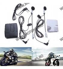 Set Interfon Iztoss Helmet To Helmet Intercom Headset 3.5mm INHM114 INHM114  Motointercom 75,00 RON 75,00 RON 63,03 RON 63,03...