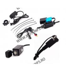 USB motocicleta mobil putere stropirii impermeabil orificiu de alimentare cu priză pentru încărcător vm8202 vm8202  USB Voltm...