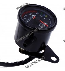 Bord electronic moto LED LCD kilometraj digital universal Cafe Racer motocicleta BML733 BML733  kilometraj universal  149,00...