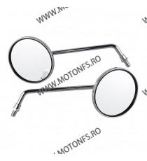 Set Oglinzi Retrovizoare Moto Universal Stanga / Dreapta M10 Clockwise HONDA CB500 CB550 CB600 CB650 CB700 CB750 CB900 OGXF46...