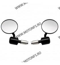 Set 2 oglinzi retrovizoare moto cap ghidon Negru ORM9463 ORM9463  Oglinzi capete de ghidon 95,00RON 95,00RON 79,83RON 79,8...