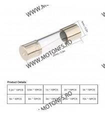Set 100pc sigurante Moto Auto fuzibile de sticla SMAC639214 SMAC639214  Sigurante Moto / Auto  40,00RON 40,00RON 33,61RON ...