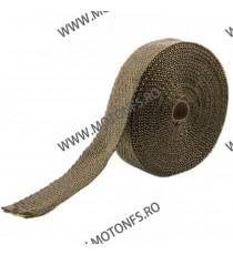 Banda termoizolanta din titanium pt evacuare ( toba) 50 mm x 2 mm x 10 M XRL-130-1 XRL-130-1  Protectie Toba 85,00RON 85,00...