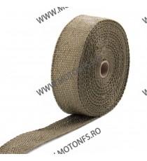 Banda termoizolanta din titanium pt evacuare ( toba) 50 mm x 2 mm x 10 M XRL-130-1 XRL-130-1  Protectie Toba 85,00lei 85,00...