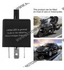 3 pini Releu semnalizare LED Moto/ Auto – Frecventa ajustabila RSL705962 RSL705962  Releu Semnal / Anulator eroare  30,00lei...
