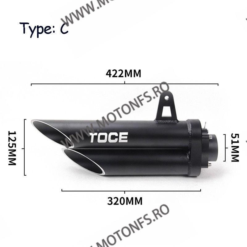Toba / Tobe Moto Replica Toce 420mm  TMRT-A42C TMRT-A42c  Toba 540,00RON 439,00RON 453,78RON 368,91RON product_reduction_...