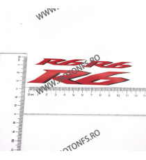 Autocolant Stickere Pentru Casca Moto Yamaha R6 ASPM215717 ASPM215717  Stickere Carena Moto Scuter ATV 20,00RON 20,00RON 16...