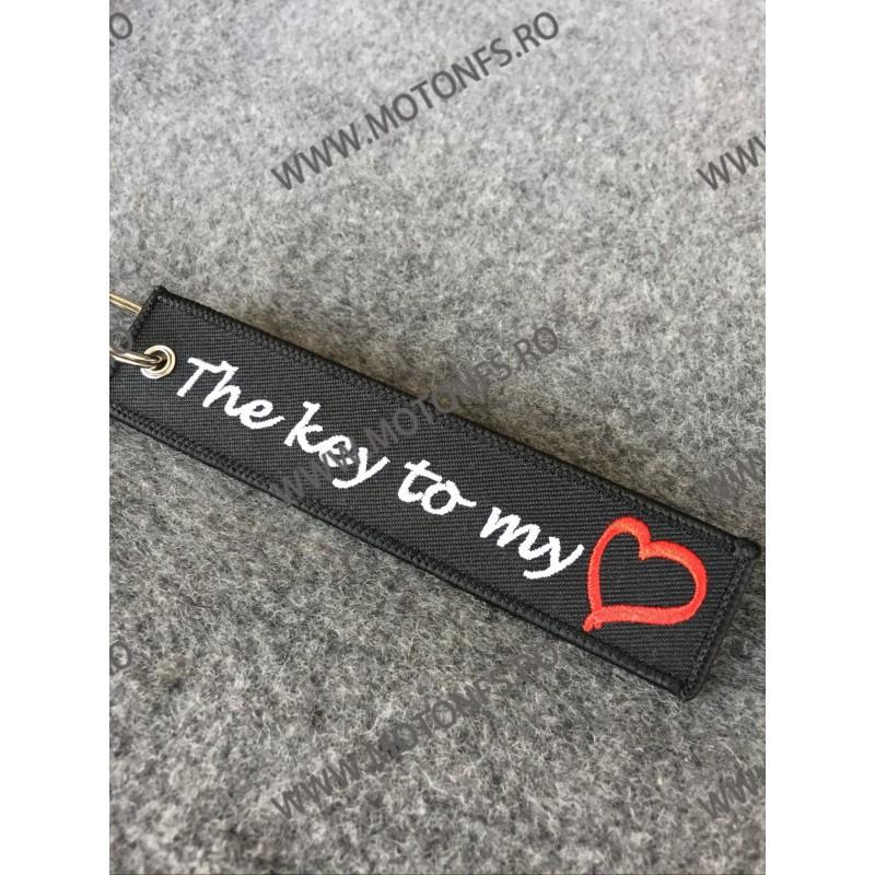 The Key To My Heart Breloc Brodat Pe Ambele Fete JV0ICE JV0ICE  Breloc Chei 15,00lei 15,00lei 12,61lei 12,61lei