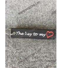 The Key To My Heart Breloc Brodat Pe Ambele Fete JV0ICE JV0ICE  Breloc Chei 10,00lei 10,00lei 8,40lei 8,40lei