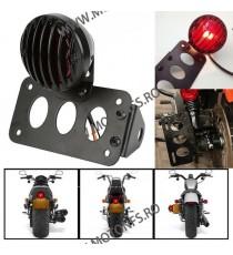 Suport numar inmatriculare moto lateral Stop Lateral Frana / Lampa /Universal Cafe Racer Chooper Bobber SL-001 SL-001  Stop U...