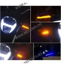 Set Semnalizari moto semnal ascendent LED flexibile, Semnalizari motociclete Led, semnalizari led dinamic SU739898 SU739898  ...