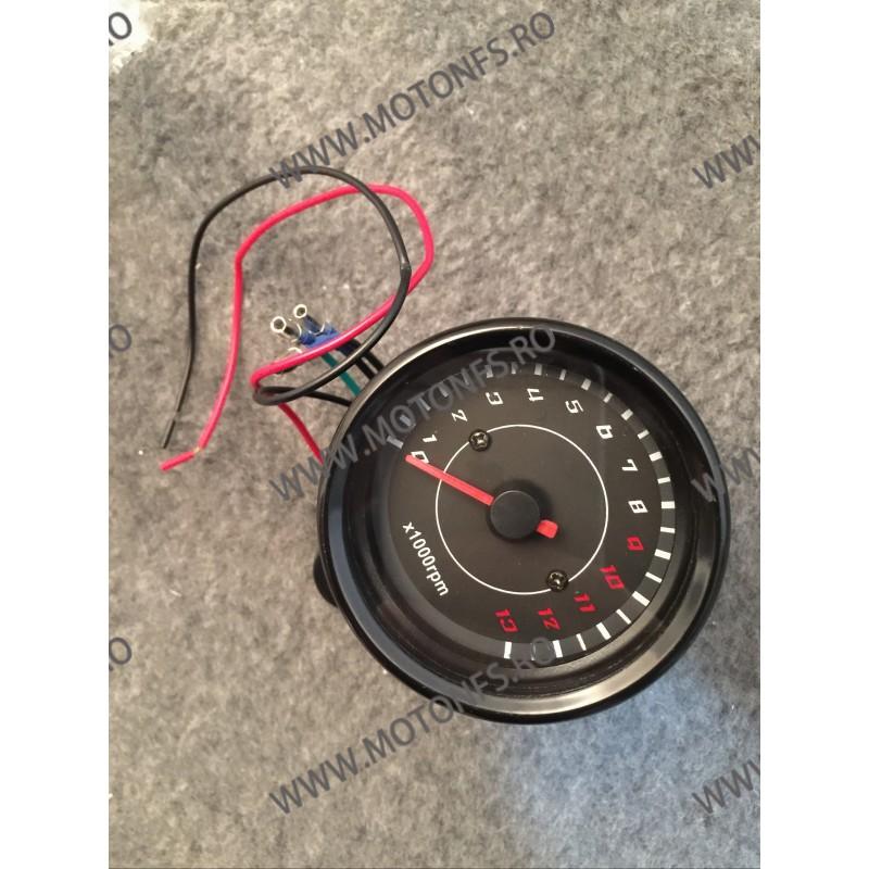 Bord electronic moto LED LCD kilometraj (Techometer) digital universal Cafe Racer motocicleta L8W0 L8W0  kilometraj universal...