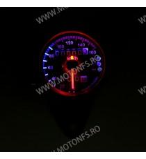 Bord electronic moto LED LCD kilometraj digital universal Cafe Racer motocicleta B1HY B1HY  kilometraj universal  89,00lei 8...