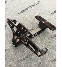 Suport numar Rabatabil CNC Negru / motocicleta / scuter / atv / universal 1TE9DM 1TE9DM  Suport Numar Universal 135,00RON 13...