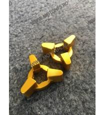 14MM Set Reglaj Suspensie Moto / Ajustoare reglaj preload furca moto Auriu A4HY7 A4HY7  GSXR1000 2001 2002 50,00RON 50,00RO...