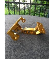 Suport numar Rabatabil  CNC Auriu / motocicleta / scuter / atv / universal N4QEU N4QEU  Suport Numar Universal 125,00RON 125...