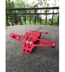 Suport Numar CNC Rosu / motocicleta / scuter / atv / universal CODHPR3-2 HPZJR3-2  Suport Numar Universal 125,00RON 125,00R...