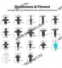 SET HE21-299PCS CLIPSURI CLEME AUTO DE PLASTIC Z7MIB HE21-299PCS  Clipsuri 84,00RON 84,00RON 70,59RON 70,59RON