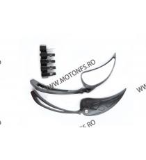 Set oglinzi racing Universal Prindere suruburi Negru 8mm / 10mm Cod SF002 SF002  Oglinzi universale 85,00RON 85,00RON 71,43...