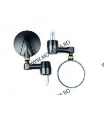 Set 2 oglinzi retrovizoare Reglabil moto cap ghidon Negru SF-071 SF-071  Oglinzi capete de ghidon 195,00RON 195,00RON 163,8...