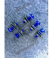 Suruburi carena moto M6 x 25mm Albastru  9SZBH 9SZBH  Suruburi carena universale 3,00RON 3,00RON 2,52RON 2,52RON