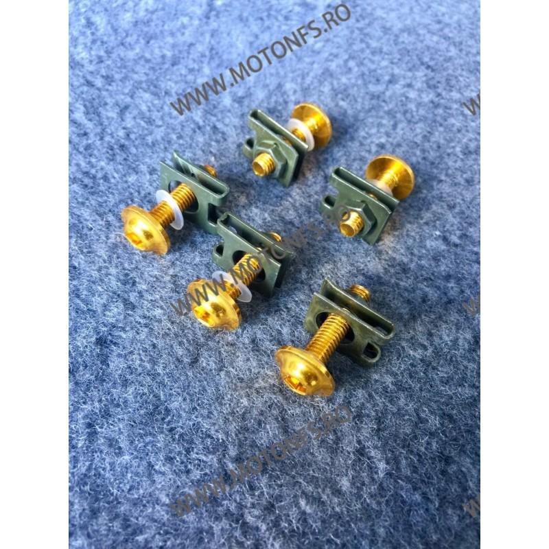 Suruburi carena moto M5 x 25mm Auriu GX76P GX76P  Suruburi carena universale 3,00RON 3,00RON 2,52RON 2,52RON