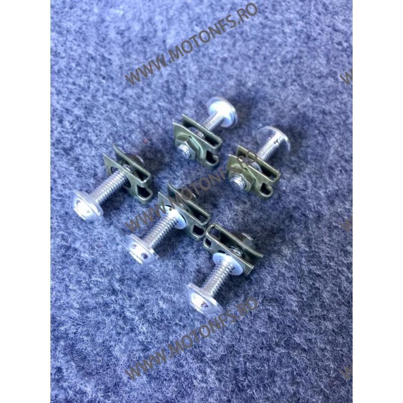 Suruburi carena moto M5 x 25mm Argintiu RR0GL RR0GL  Suruburi carena universale 3,00RON 3,00RON 2,52RON 2,52RON