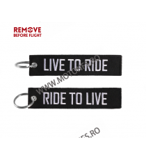 Live To Ride / Ride To Live Breloc Moto Brodat Pe Ambele Fete MBP7N MBP7N  Breloc Chei 10,00 RON 10,00 RON 8,40 RON 8,40 RON
