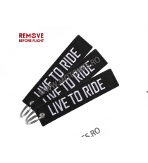 Live To Ride / Ride To Live Breloc Moto Brodat Pe Ambele Fete MBP7N MBP7N  Breloc Chei 10,00RON 10,00RON 8,40RON 8,40RON