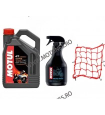 MOTUL 7100 10W40 SEMI SINTETIC 4L + MOTO WASH - 1000ML + PLASA CASCA BAGAJ CGTP9 CGTP9  Ulei Motor 245,00RON 245,00RON 205,...