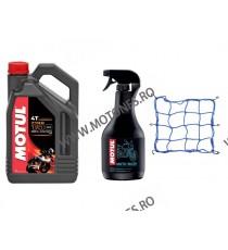 MOTUL - 7100 10W50 - 4L + Cadou MOTO WASH - 1000ML + PLASA CASCA BAGAJ ZPN6D  Ulei Motor 245,00RON 245,00RON 205,88RON 205...