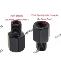 Adaptor Oglinda / Suruburi Oglinda De La M10 Dreapta La M10 Filet Stanga K17EQ K17EQ  Adaptoare Oglinzi  10,00RON 10,00RON ...