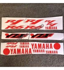YAMAHA R1 R6 Autocolant Stickere Pentru Carena Moto LB252 LB252  Stickere Carena Moto  49,00RON 49,00RON 41,18RON 41,18RON