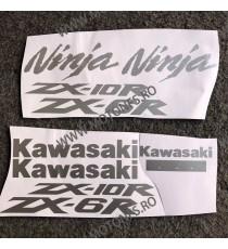 KAWASAKI ZX6R ZX10R Autocolant Stickere Pentru Carena Moto J48G7 J48G7  Stickere Carena Moto  42,00RON 42,00RON 35,29RON 3...