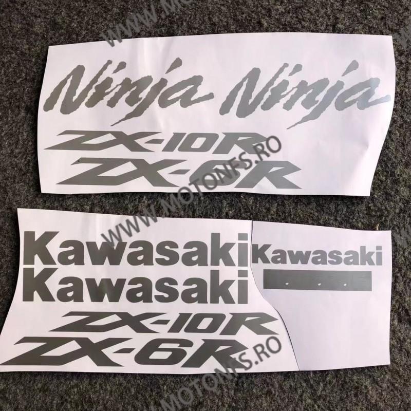 KAWASAKI ZX6R ZX10R Autocolant Stickere Pentru Carena Moto J48G7 J48G7  Stickere Carena Moto Scuter ATV 42,00RON 42,00RON 3...
