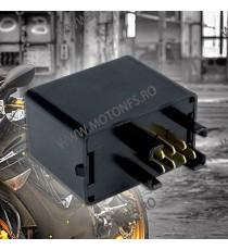 Sifam Diverse 7 pini Releu Central semnalizare Electronic LED Moto/ Auto – Frecventa ajustabila Suzuki INDLED04 DGM9E  Rezist...