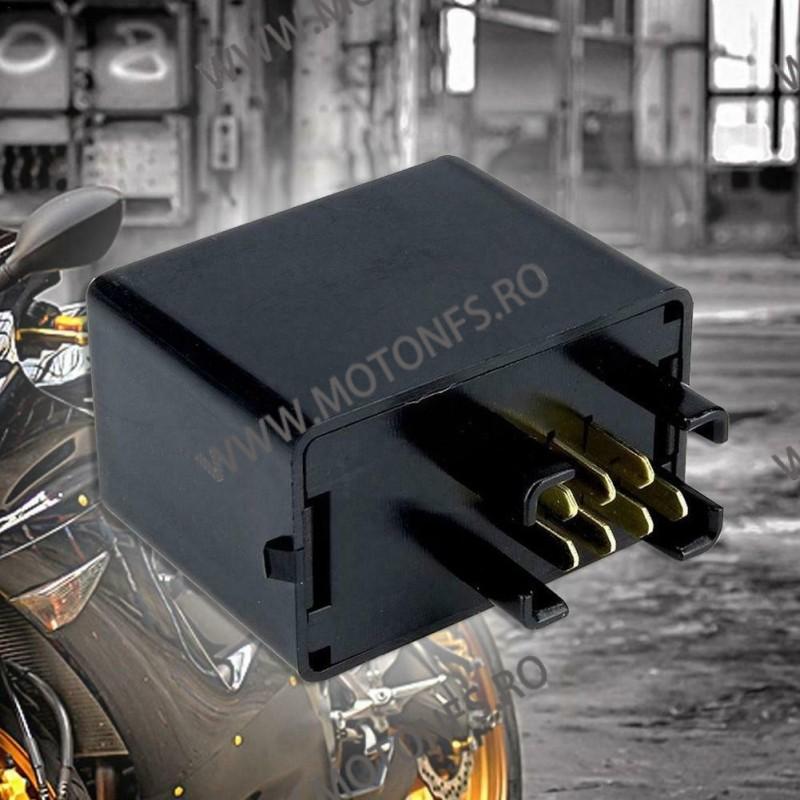 Sifam Diverse 7 pini Releu Central semnalizare Electronic LED Moto/ Auto – Frecventa ajustabila Suzuki INDLED04 DGM9E  Releu ...