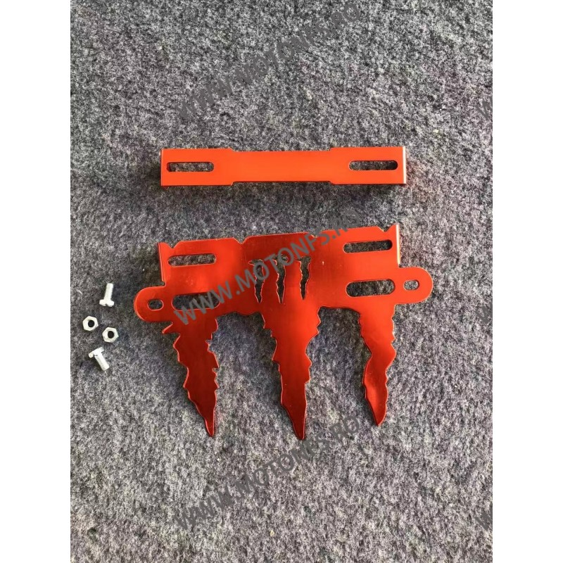 Monster Suport Numar Universal Rabatabil Portocaliu VZD1S VZD1S  Suport Numar Universal 45,00RON 45,00RON 37,82RON 37,82RON