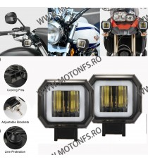 Proiector LED Angel Eye Moto, Auo, ATV de 3 Inch putere 40W 1BAL9 1BAL9  Proiectoare, Lampi & Leduri 95,00RON 95,00RON 79,8...